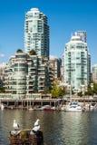 Yaletown budynek mieszkalny, Vancouver, Kanada Zdjęcia Stock