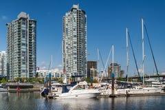 Yaletown budynki mieszkalni, Vancouver, Kanada Zdjęcia Royalty Free