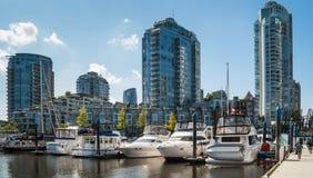 Yaletown budynki mieszkalni, Vancouver, Kanada Zdjęcie Royalty Free