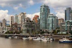 Yaletown budynki mieszkalni, Vancouver, Kanada Zdjęcia Stock