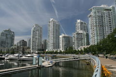 Yaletown Central Royalty Free Stock Photos