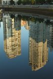 Yaletown Condo Reflections, Vancouver Royalty Free Stock Photos