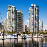 Yaletown residential buildings, Vancouver, Canada Stock Images