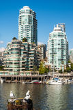 Yaletown residential buildings, Vancouver, Canada Stock Photos