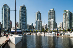 Yaletown residential buildings, Vancouver, Canada Royalty Free Stock Image