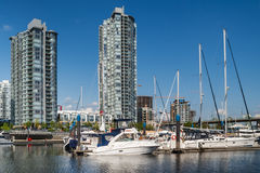 Yaletown residential buildings, Vancouver, Canada Royalty Free Stock Photos