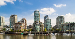 Yaletown residential buildings, Vancouver, Canada Royalty Free Stock Photography