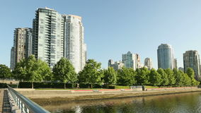 Yaletown Seawall Morning Workout Stock Images