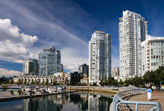 Yaletown, Vancouver Stock Photo