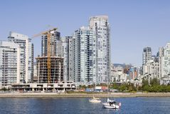 Yaletown, Vancouver Royalty Free Stock Photos