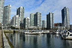 Yaletown,Vancouver BC,Urban living in luxury. Stock Photo