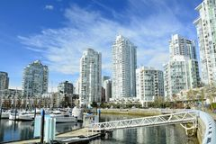 Yaletown,Vancouver BC,Urban living in luxury. Stock Photos