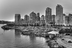 Yaletown in Vancouver, British Columbia Royalty Free Stock Photo