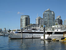 Yaletown Yacht & Towers Stock Image