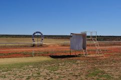 Yalgoo horse racing club Australian outback Royalty Free Stock Photography