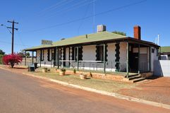 Yalgoo pub saloon in Australian outback Royalty Free Stock Photography