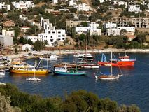 Yalikavak region in Bodrum Royalty Free Stock Photo