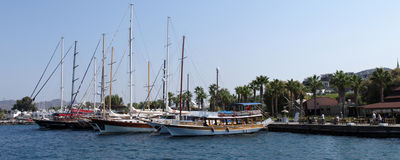 Yalikavak - Yachts Royalty Free Stock Image