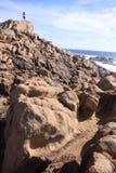 Yallingup-Kanal schaukelt West-Australien Lizenzfreie Stockfotos
