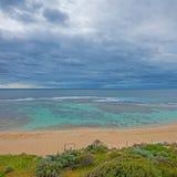Yallingup plaża Obraz Royalty Free