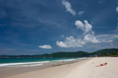 Yalong Bay Beach Stock Photography