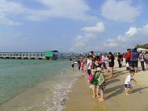 Yalong bay in sanya, hainan Royalty Free Stock Photo