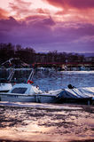Yalova miasta port morski I Marina Zdjęcie Stock