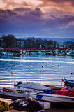 Yalova stad Marina And Seaport Arkivfoto