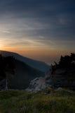 Yalta ad aurora Fotografie Stock