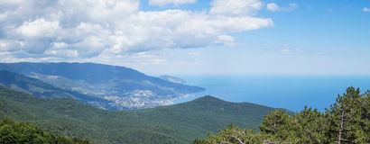 Yalta with AiPetri Stock Photos