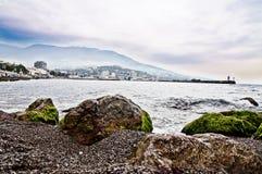 Yalta bay Royalty Free Stock Images