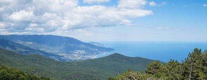 Yalta com AiPetri Fotos de Stock