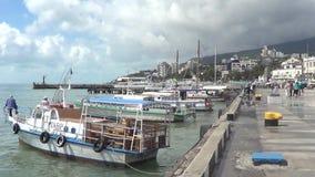Yalta, Crimea stock video footage