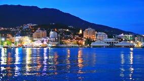Yalta, de Krim, de Oekraïne stock videobeelden