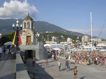 Yalta, embankment Royalty Free Stock Photography
