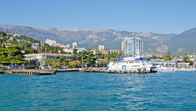 Yalta embankment Royalty Free Stock Photography