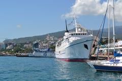 Yalta embankment Stock Image