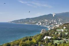 Yalta fjärd royaltyfria foton