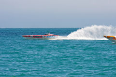 Yalta Grand Prix Powerboat P1 2010 Stock Photo
