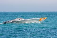 Yalta Grand Prix Powerboat P1 2010 Royalty Free Stock Images