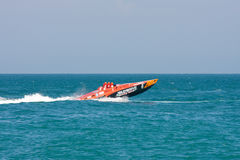 Yalta Grand Prix Powerboat P1 2010 Royalty Free Stock Images