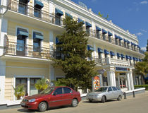 Yalta, hotel Stock Photos