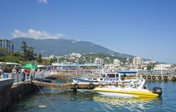 Yalta, Krim stockbild