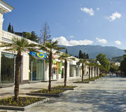 Yalta, Krim stockfoto