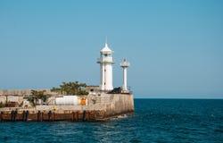 Yalta lighthouse Royalty Free Stock Photo