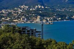 Yalta met hoogte Royalty-vrije Stock Foto