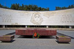 Yalta, Monument of Glory Royalty Free Stock Photos