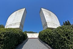 Yalta, Monument of Glory Stock Image