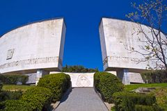 Yalta, Monument of Glory Stock Photos