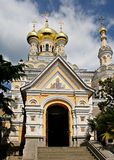 Yalta orthodox cathedral Stock Photo